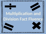 Multiplication Fluency (EDITABLE)