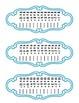 Multiplication Fluency Facts 2-12