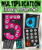 Multiplication Multiples Posters {Black Version}