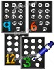 Multiplication Multiples Posters {Black Version}