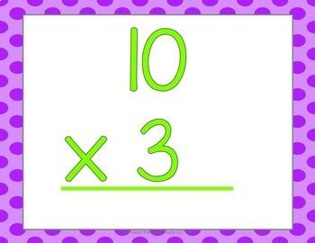 Multiplication Math Facts Fluency & Fitness Brain Breaks Bundle