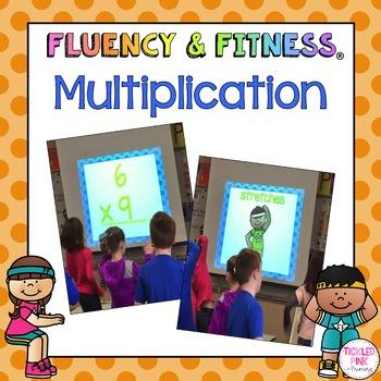 Multiplication Math Facts Fluency & Fitness Brain Breaks