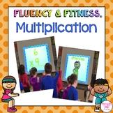 Multiplication Math Facts Fluency & Fitness® Brain Breaks