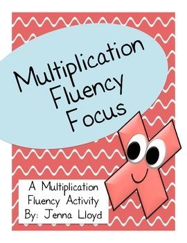 Multiplication Fluency Focus x2 (3.OA.7)