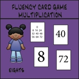 Multiplication Fluency Game - Eights