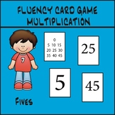 Multiplication Fluency Game - Fives