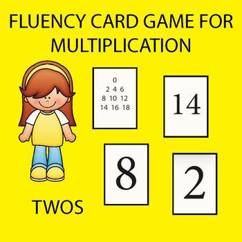 Multiplication Fluency Game - Twos