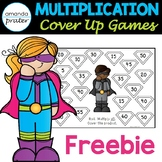 Multiplication Fluency Games Freebie