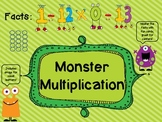 Multiplication Fluency- Master Multiplication Facts 0-12 with Monsters
