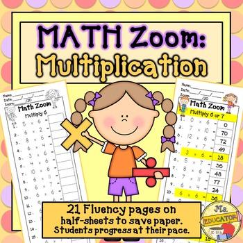 Multiplication Fact Fluency*