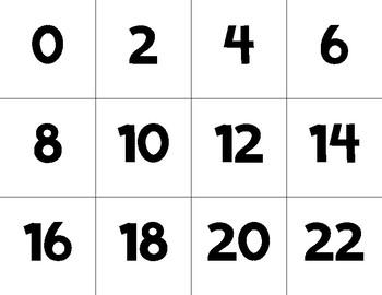 Multiplication Fluency Memory Game