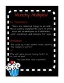 Multiplication Fluency Munchy Multiples