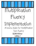 Multiplication Fluency Packet