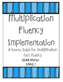 Multiplication Fluency Packet