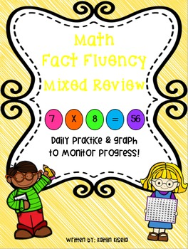 Multiplication Fluency Practice: Mixed Review