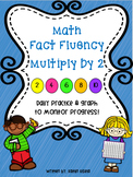 Multiplication Fluency Practice: Multiply by 2