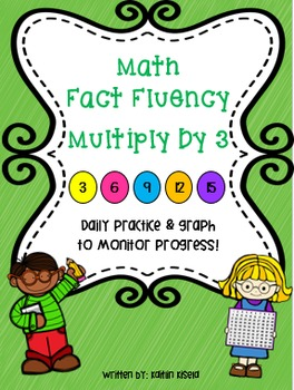 Multiplication Fluency Practice: Multiply by 3