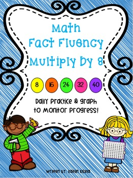 Multiplication Fluency Practice: Multiply by 8