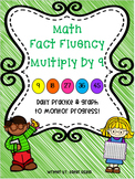Multiplication Fluency Practice: Multiply by 9