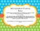 Multiplication Fluency Race