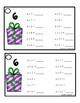 Multiplication Fluency Rings - Winter Theme