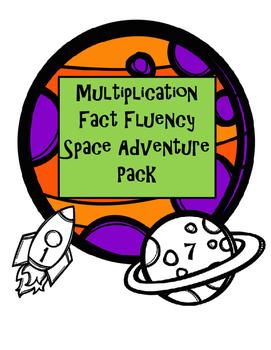 Multiplication Fluency Space Adventure Pack