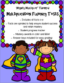 Multiplication Fluency Tests (Spiral)