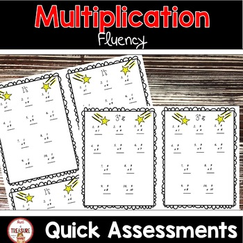 Multiplication Fluency (Superhero Theme)