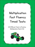 Multiplication Fluency Timed Tests