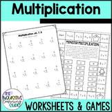 Multiplication Fluency Worksheets: Factors 0-10