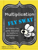 Multiplication Fly Swat Interactive Game - Whole Class or