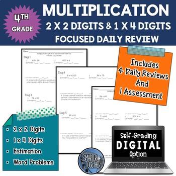 Multiplication of Multi-Digit Numbers - Focused Daily Revi