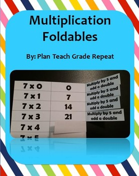 Multiplication Foldables