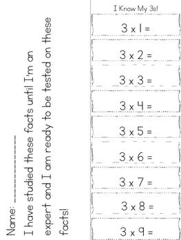 Multiplication Foldables Set