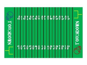 Multiplication Football {Common Core Activity}