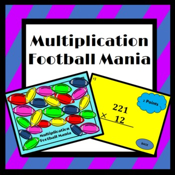 Multiplication: Football Mania (5.NBT.5)
