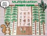 Multiplication Forest Climb - Math Center Practice Skip Co