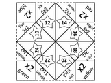 Multiplication Fortune Teller 2 through 9 UPDATED