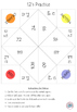 Multiplication Fortune Tellers 12's - Basic Facts Practice