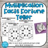 Multiplication Fortune Tellers
