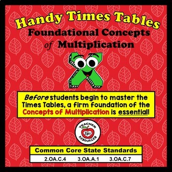 MULTIPLICATION FOUNDATIONS BUNDLE - The Handy Hands Way!