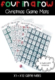 Multiplication Four In a Row (Christmas Themed)
