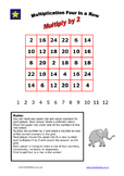 Multiplication Four in a Row