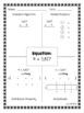 Multiplication FourSquare Review Activity
