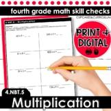 Multiplication | Fourth Grade Math 4.NBT.5