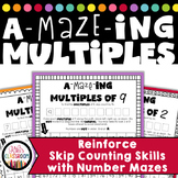 FREE Multiplication Worksheets - Fun Mazes to Practice Multiples & Skip Counting