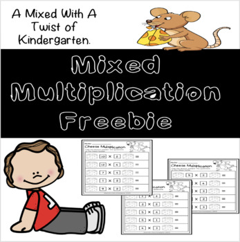 Multiplication Freebie 2,3 and 4 Times Tables
