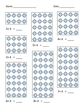 Multiplication Freebie : Practices with Facts 2-9