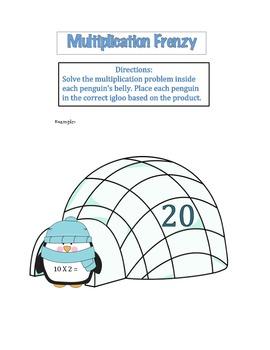 Multiplication Frenzy
