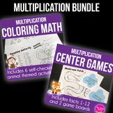 Multiplication Friends: Math Practice BUNDLE